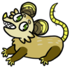 Cinnamon Opossum