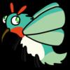 Green Hummingbird Hawk Moth