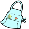 Embroidered Gardening Apron